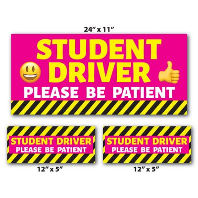 Student Driver Magnet